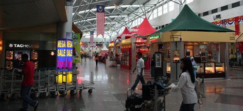 Shops at Langkawi airport 2