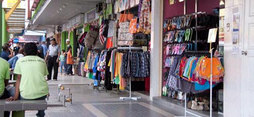 Shops at Kuah city center Langkawi 1