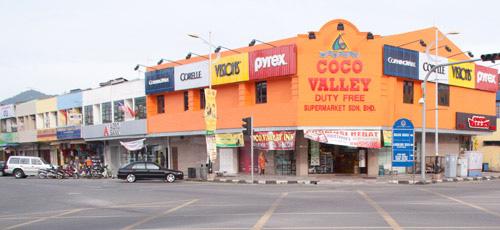 Shops at Kuah city center Langkawi 2