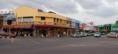 Shops at Kuah city center Langkawi 3