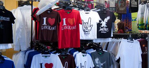 Small shops at Pantai Cenang Langkawi 1