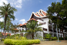 Main building Westin Resort