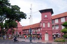 Malacca Christ Church Clock Tower