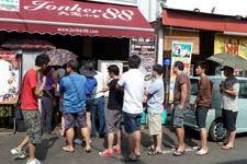 Dessert88 at Jonker Street in Malacca