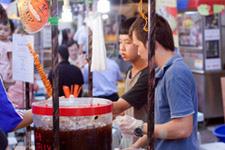 Malacca Jonker Street market vendors