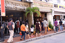 Malacca; small shops along Jonker Street