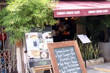 Malacca; lunch cafe Limau Limau