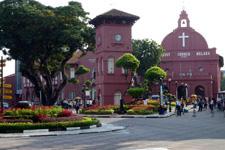 Malacca Christ Church popular sight