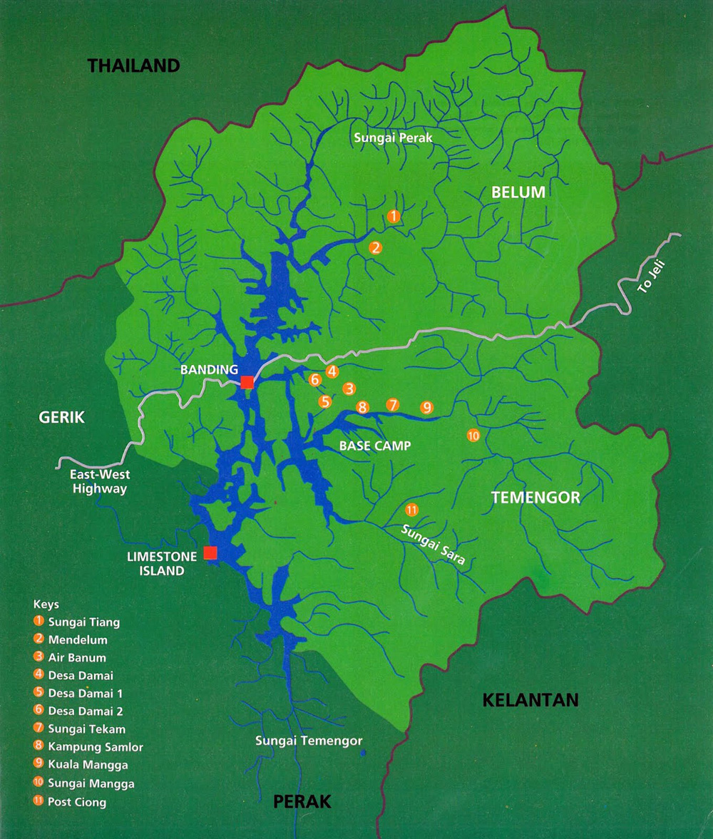 Royal Belum State Park Wonderful Malaysia