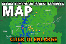 Map Belum-Temengor Forest Complex (BTFC)
