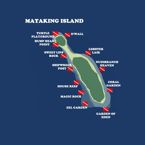 5 Days 4 Nights Tawau Pulau Mataking Undersea Paradise