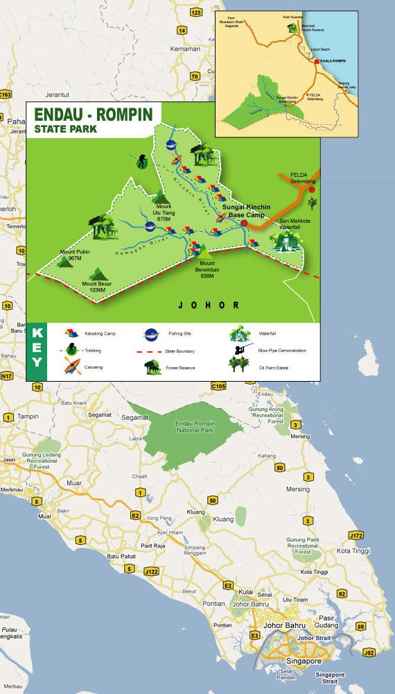Endau Malaysia  City pictures : Endau Rompin National Park | Wonderful Malaysia