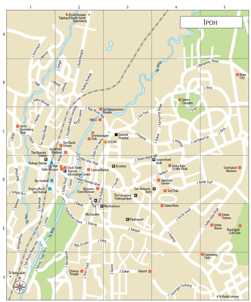 Malaysia Ipoh Map Ipoh, city in Malaysia | Wonderful Malaysia