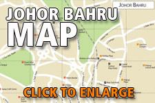 Map Johor Bahru
