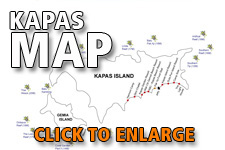 Map Kapas Island