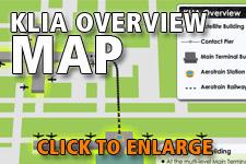 Map KLIA overview