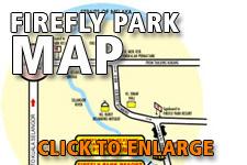 Map Fireflies Kuala Selangor