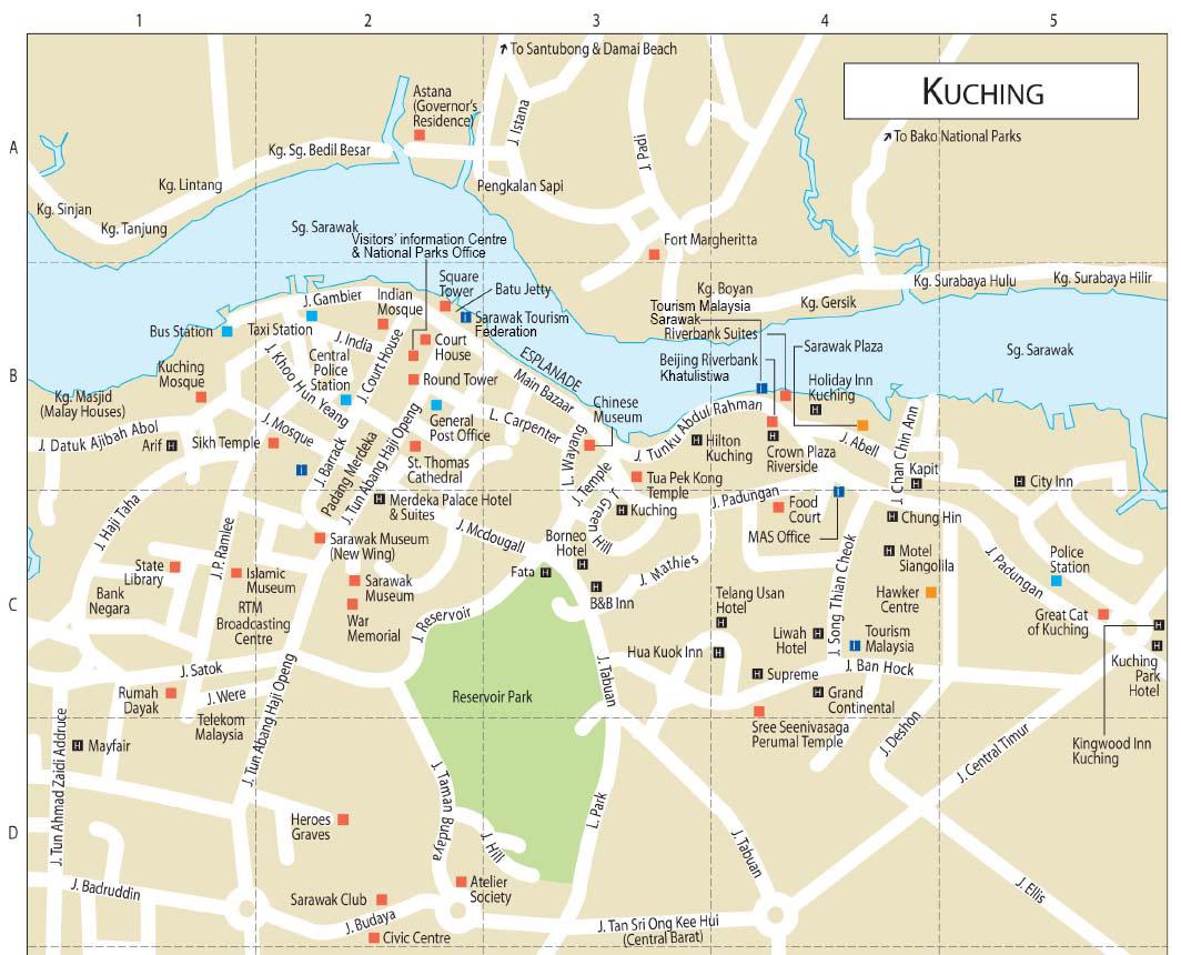 Kuching city in Malaysia Wonderful Malaysia