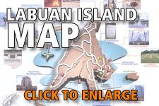 Map Labuan Island