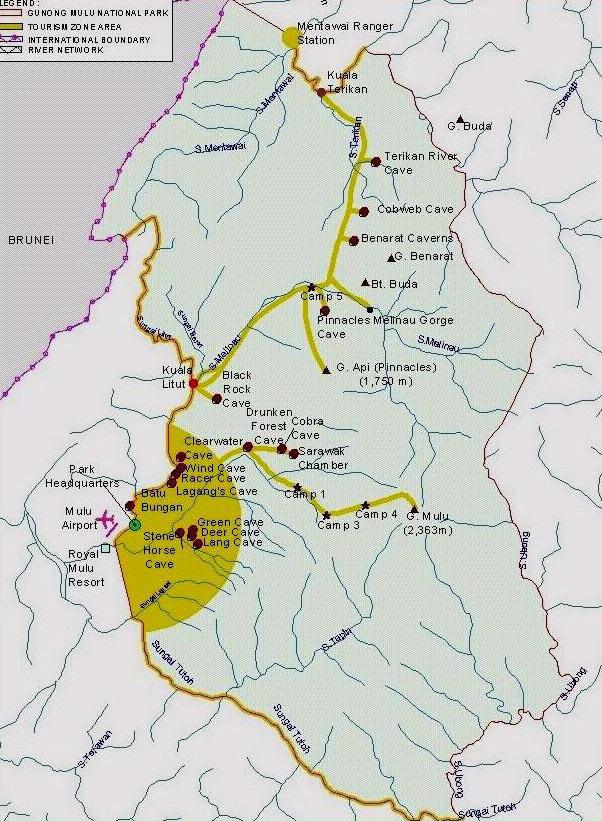 Mulu National Park in Sarawak Borneo Malaysia Wonderful Malaysia