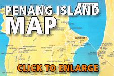 Map Penang Island