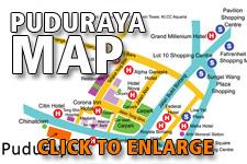 Map Puduraya Bus Station