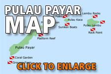 Map Pulau Payar