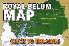 Map Royal Belum State Park