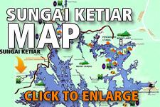 Map Sungai Ketiar Elephant Sanctuary