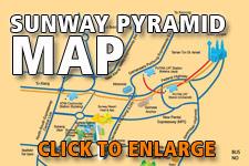 Map Sunway Pyramid