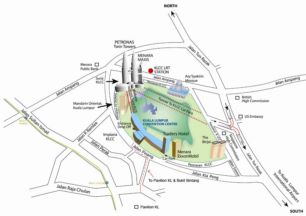 Suria KLCC shopping mall in Kuala Lumpur Malaysia Wonderful Malaysia