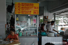 Miri food court and hawkers