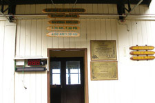Entrance of Laban Rata Rest House