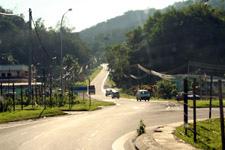Road from Kota Kinabalu