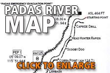 Map Padas River Sabah