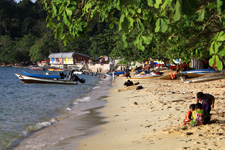 Beach at Pangkor Island