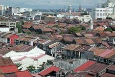 Rooftops of Georgetown houses