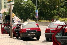 Taxis in Georgetown Penang
