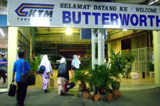 Butterworth train station
