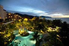 Luxurious Parkroyal resort Batu Ferringhi
