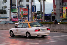 Taxi driving in Penang