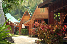 Affordable accommodation at Perhentian