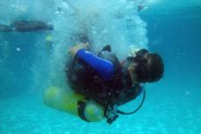 Backdrop diving Perhentian