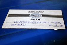 Padi certificate