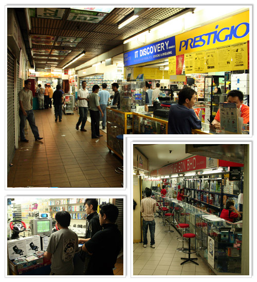 Many small shops at Plaza IMBI