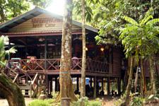 Entrance KJC Jungle Camp Kinabantangan