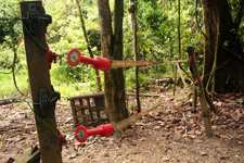 KJC Jungle Camp electric fence