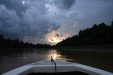 Kinabatangan River in Sabah