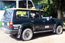 Kinabatangan Trip Toyota Landcruiser