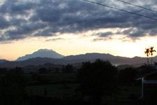 View on Mount Kinabalu in Sabah